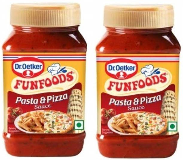 FUN FOODS Pasta & Pizza Sauce 325 Gram Pack Of 2 650 g