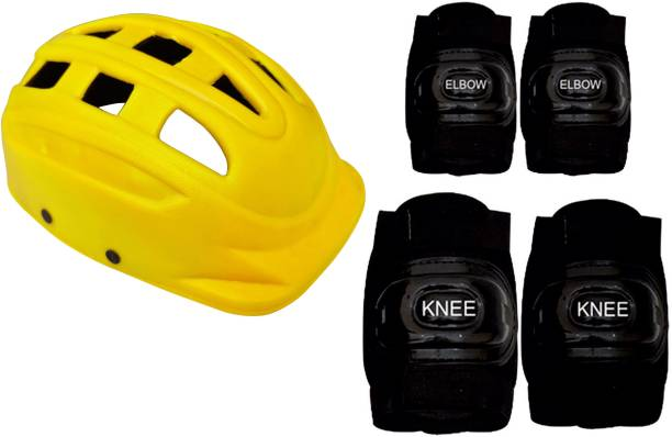 Jaspo Mygthy Protective Set Perfect for Age Group Upto 14 Years Old Cycling Kit