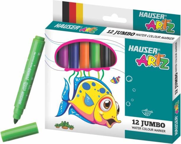 Hauser Artz 12 Jumbo Water Color Marker