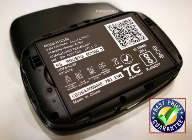 Jics Mobile Battery For  JIO JIO jiofi Battery H12348 for Jio WiFi Dongle M2S/ Jiofi 2 M2