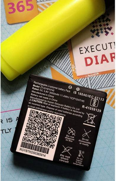 Jics Mobile Battery For  JIO JIO FI 6 / JMR 1040 / JIO WIFI 6 / JIO ROUTER 1040 / JIO JMR 815 JIO DONGE 6 / JIO ROUTER 6/ ZT-GY974745