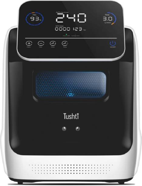 Tushti OCM-X3 Portable 3 LPM Oxygen Concentrator Machine For Home Use Oxygen Concentrator