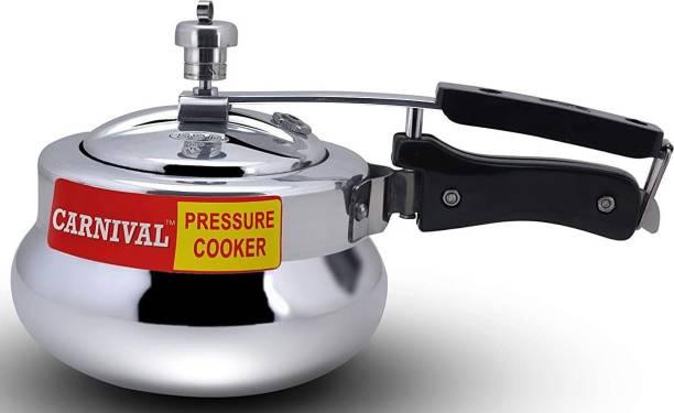 Carnival ALUMINIUM DESIRE MODEL PRESSURE COOKER 1.5 LTR (INNER LID) PURE VIRGIN ALUMINIUM 1.5 L Induction Bottom Pressure Cooker