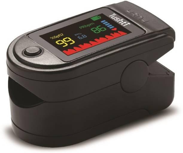 Tushti Swadesi OxiGuard Pulse Oximeter Fingertip, Blood Oxygen Saturation Monitor Fingertip, Blood Oxygen Meter Finger Oximeter Finger with Pulse, O2 Monitor Finger for Oxygen Pulse Oximeter Pulse Oximeter