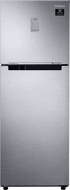 SAMSUNG 253 L Frost Free Double Door 3 Star Convertible Refrigerator