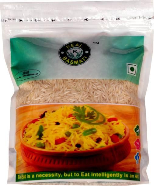 Real Basmati 1121 (Pack of 5) Basmati Rice (Long Grain, Steam)