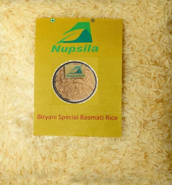 Nupsila Biryani Special Extra Long (Pack of 10) Yellow Basmati Rice (Long Grain, Boiled)