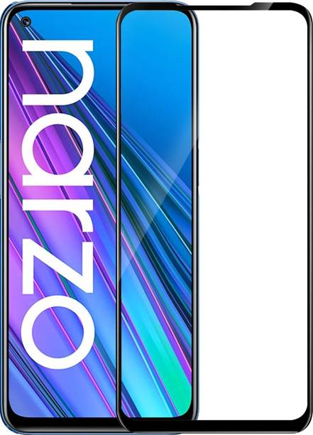 Knotyy Edge To Edge Tempered Glass for Realme Narzo 30 5G