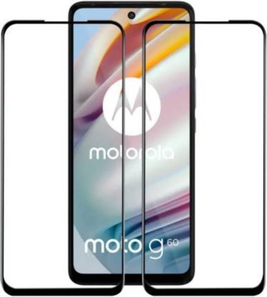 Trendzcase Edge To Edge Tempered Glass for Motorola G60