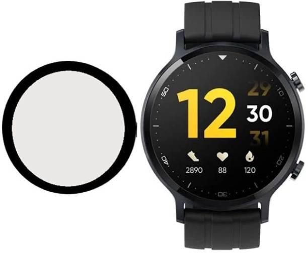CallSmith Screen Guard for Realme Watch S, Full Coverage Soft Fibre Glass Screen Protector