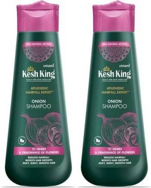 Kesh King Scalp and Hair Medicine Ayurvedic Hair fall Expert Onion Shampoo (600 ml)