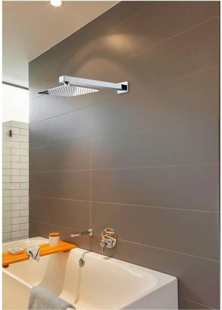 Alturas 12x12 (12inch) Heavy SS Ultra Slim Rain Shower Head with 24inch square Arm Shower Head