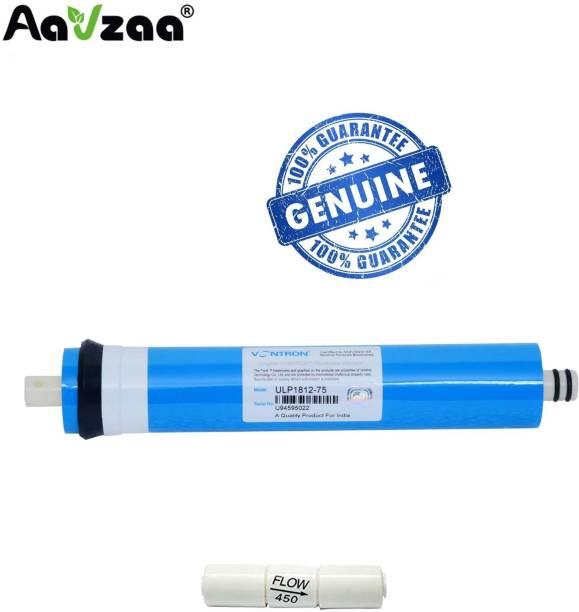Aavzaa by aavzaa Vontron RO Membrane Vontron 80GPD + FR Kit Solid Filter Cartridge