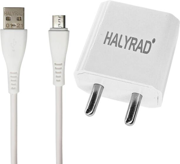 HALYRAD HR06MicroUSB 2 A Mobile Charger with Detachable Cable