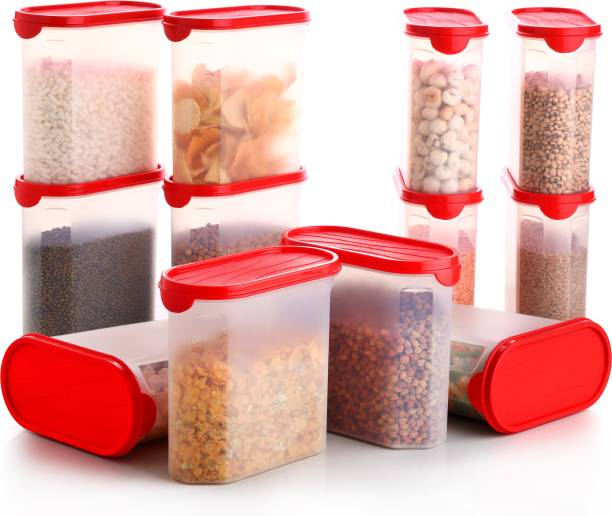 SPEACK Woman's 1st Choice Kitchen Containers / Kitchen Storage Containers / Airtight Container / Storage Box / Plastic Box / Plastic Containers / Canisters / Combo / Set For Tea, Coffee, Sugar, Food, Grain, Rice, Masala, Pasta, Pulses, Spices, Kitchen  - 2500 ml Plastic Grocery Container