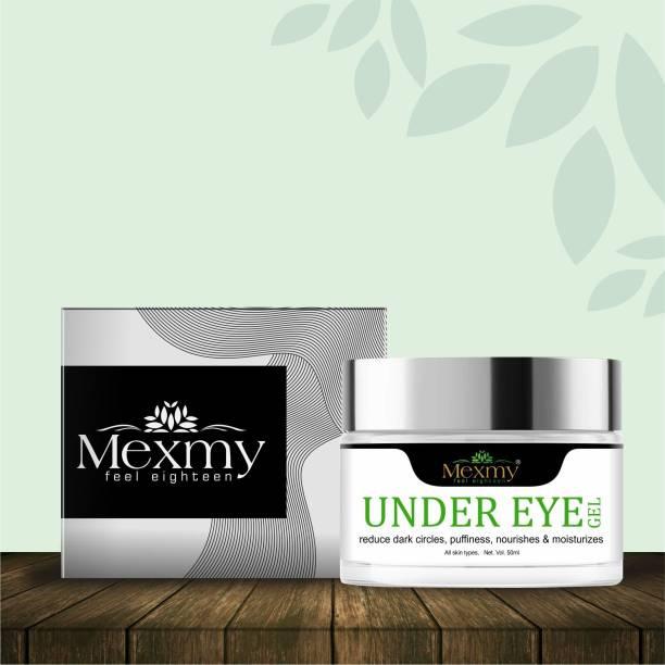 Mexmy Under Eye Cream Gel for Dark Circles, Puffy Eyes, Wrinkles & Removal Of Fine Lines for Women & Men, 50ml