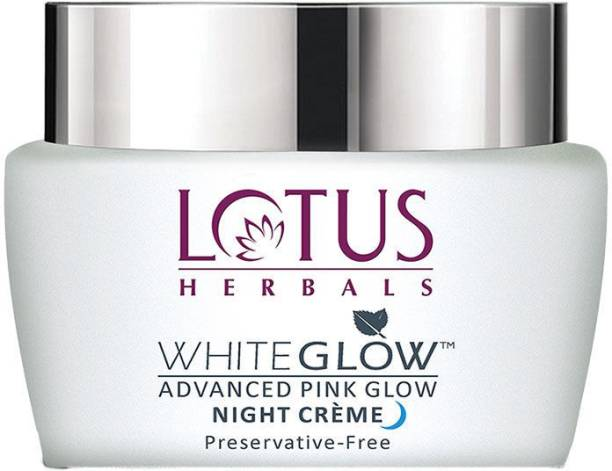 LOTUS HERBALS WhiteGlow Advanced Pink Glow Night crème