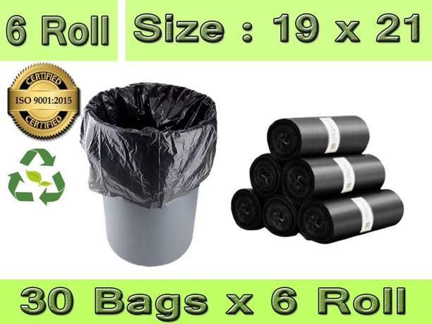 Bye Bye JUNK PACK O6 ROLLS Medium 13 L Garbage Bag