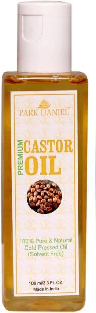 PARK DANIEL Cold Pressed Castor Oil- 100% Pure & Natural(100 ml) Hair Oil
