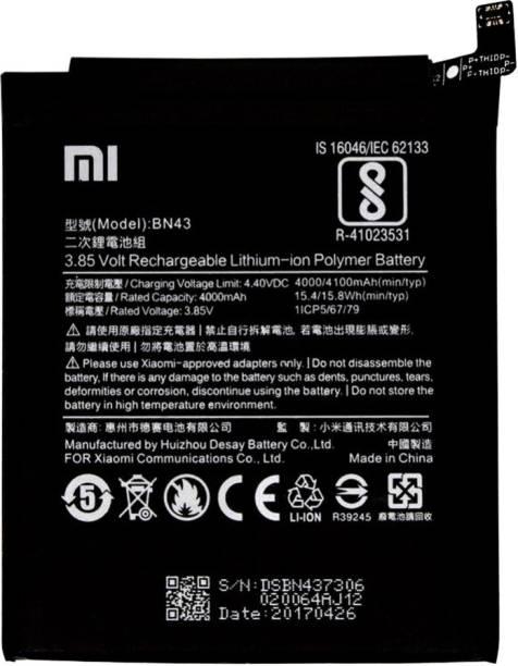 TokyoTon Mobile Battery For  Xiaomi Redmi Note 4 BN43