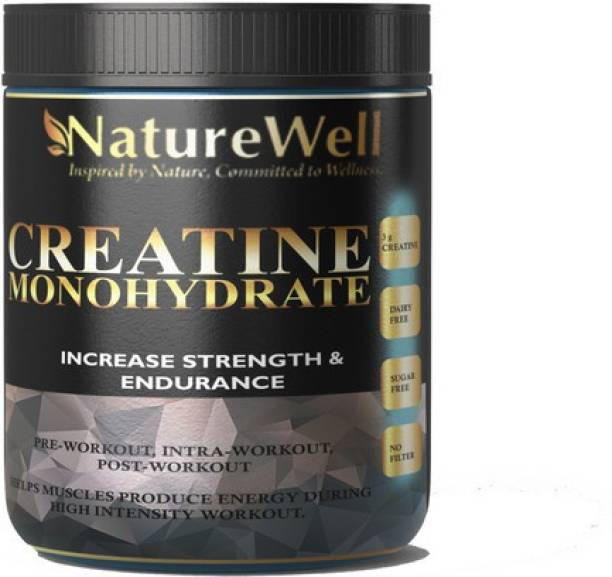 Naturewell Organics Creatine Monohydrate Creatine C37 Premium Creatine