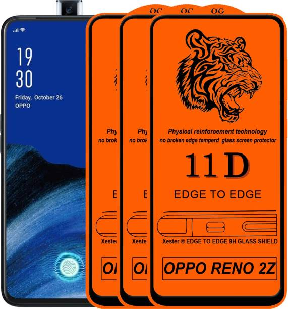 Rofix star Edge To Edge Tempered Glass for OPPO Reno 2z