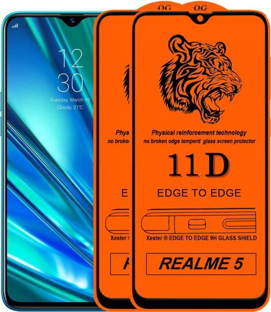 Rofix star Edge To Edge Tempered Glass for Realme 5