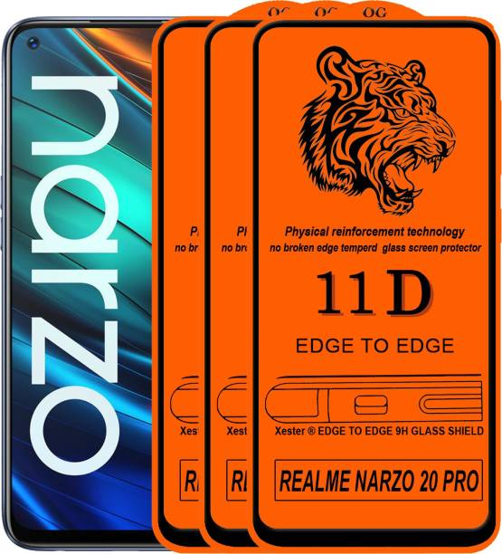 Rofix star Edge To Edge Tempered Glass for REALME NARZO 20 PRO