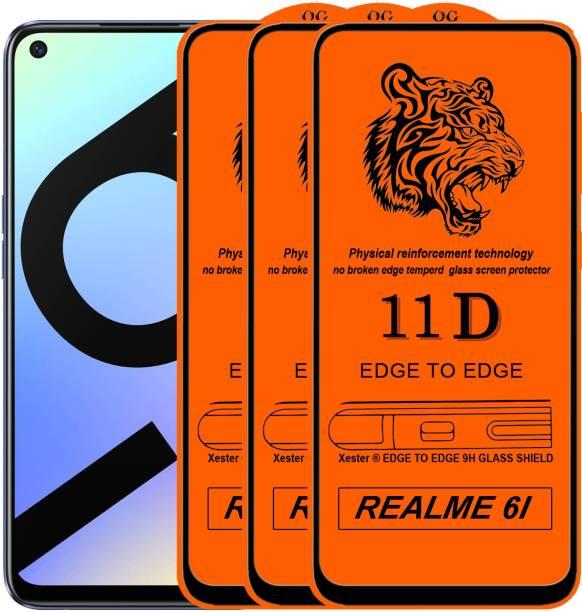 Rofix star Edge To Edge Tempered Glass for Realme 6i