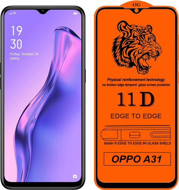 Xester Edge To Edge Tempered Glass for Oppo A31