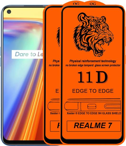 Rofix star Edge To Edge Tempered Glass for REALME 7