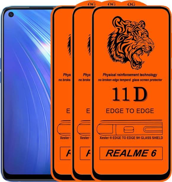 Rofix star Edge To Edge Tempered Glass for Realme 6