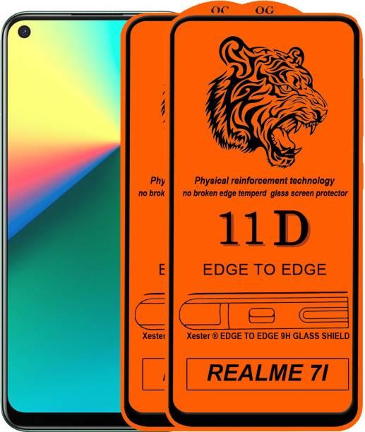 Rofix star Edge To Edge Tempered Glass for REALME 7I