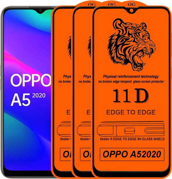 Rofix star Edge To Edge Tempered Glass for Oppo A5 2020