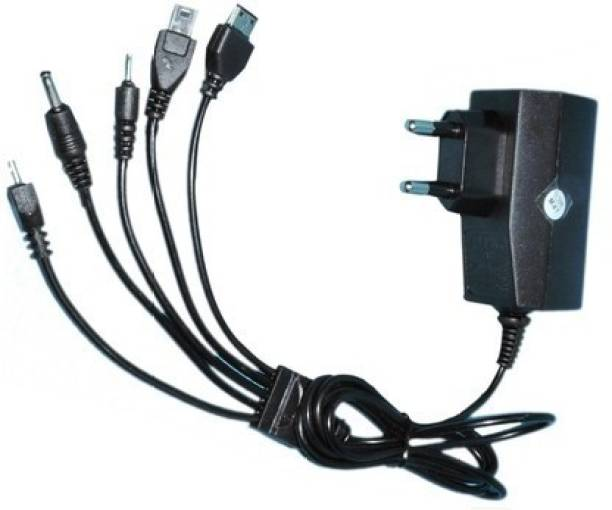 JPW 5 IN 1 2.4 A Mobile Charger