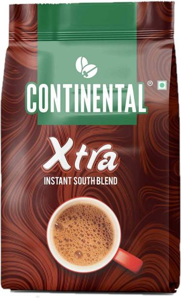 CONTINENTAL Coffee Xtra Instant Coffee Powder, Chicory Flavoured 200gm Pouch ,(Pack of 1) Instant Coffee