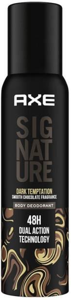 AXE Signature Dark Temptation Long Lasting No Gas Body Deodorant For Men Body Spray  -  For Men