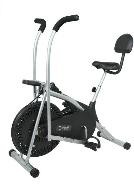 COCKATOO AB06WBC With Moving Handle & Back Support Exercise Cycle(DIY Installation) Indoor Cycles Exercise Bike