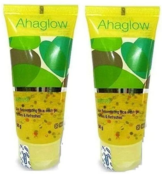 ahaglow - Torrent Face wash ( 2x 50 gm) 100 gm 2 Pack of Face Wash