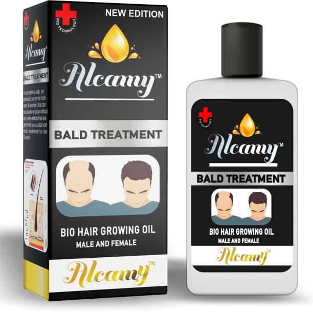 Alcamy Bald Treatment Hair Oil (For Men & Women)