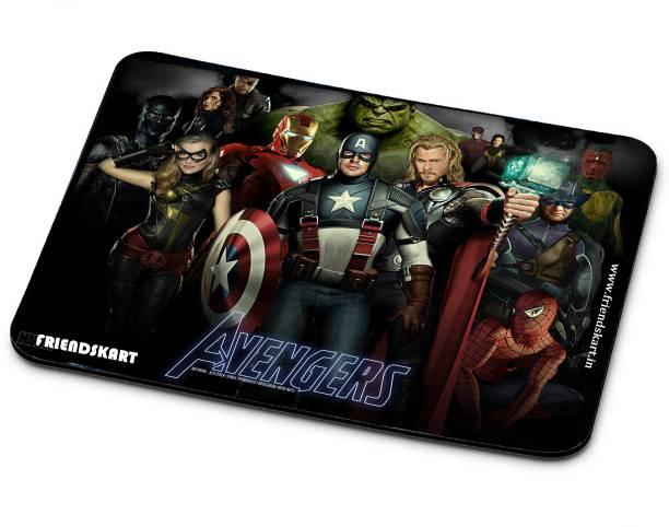 Friendskart Avenger Mouse Pad, Laptop, Destop, Gaming Mouse Pad Non-Slip Rubber Base Mouse pad for Laptop & Desktop118 Mousepad
