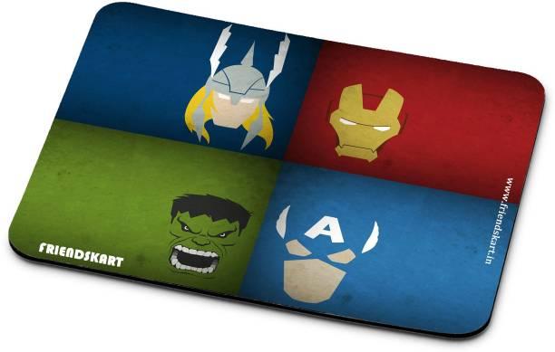 Friendskart Avenger Mouse Pad, Laptop, Destop, Gaming Mouse Pad Non-Slip Rubber Base Mouse pad for Laptop & Desktop115 Mousepad