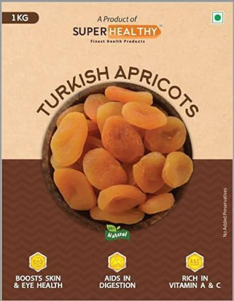 Super Healthy Turkish Apricots | Imported World-Class Edible Raw Apricot Dry Fruit | Organic and Soft Apricots for Eating Apricots