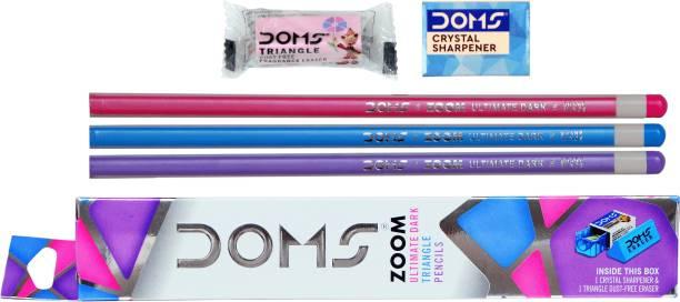 DOMS Zoom Triangle Pencil