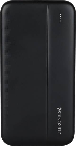 ZEBRONICS 10000 mAh Power Bank (12 W, Fast Charging)
