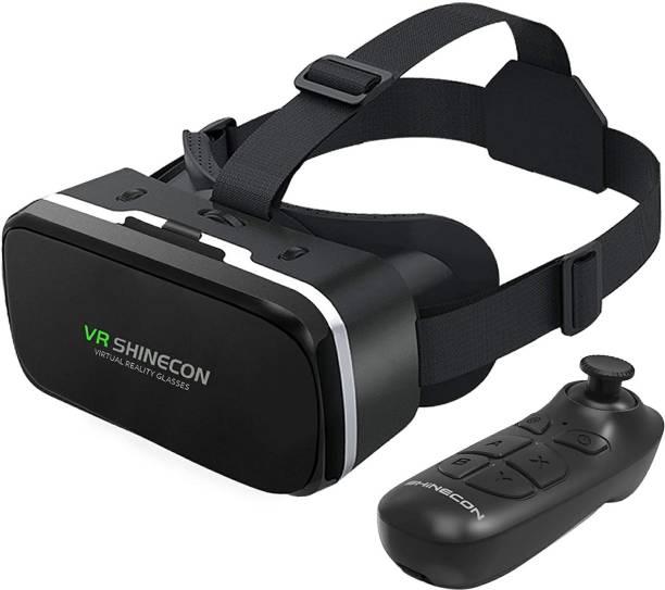 IBS VR Shinecon Pro Virtual Reality 3D Glasses Headset VRBOX Head Mount Google Cardboard Helmet For Smartphone 4-6inch