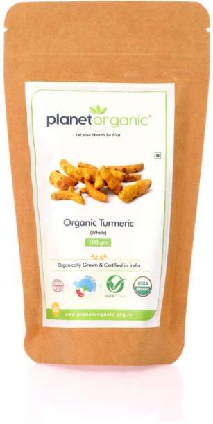 Planet Organic India Organic Turmeric Whole