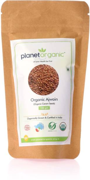 Planet Organic India Organic Ajwain/Carom Seeds