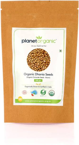 Planet Organic India Organic Dhania Seeds