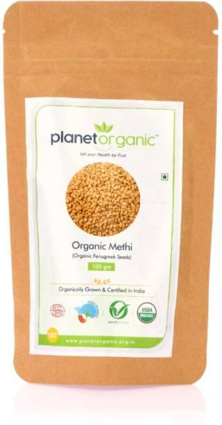 Planet Organic India Organic Methi (Fenugreek)